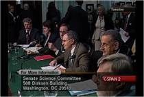 Witness panel at September 2004 hearing