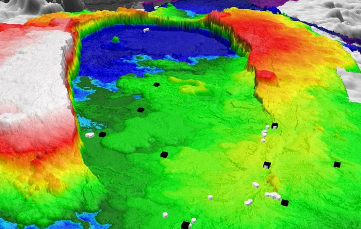 Axial Seamount in 3D