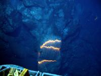 West Mata lava tube formation