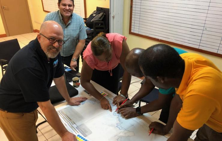 Emergency managers creating easy to read public evacuation maps from PMEL tsunami modeling results