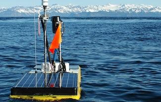 photo of Carbon Wave Glider in Prince William Sound