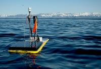 photo of the carbon wave glider in Alaska