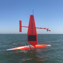 Saildrone SD1006 starting its journey from San Francisco, California, to the SPURS-2 region in the eastern tropical Pacific.