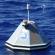 photo of SPURS mooring deployed in Atlantic Ocean